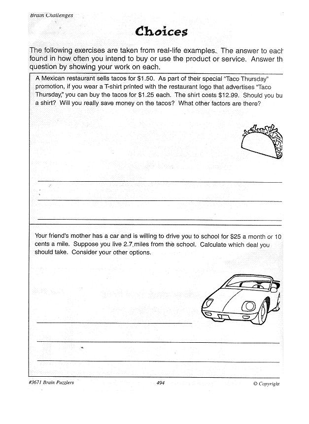 buy essay online 3rd grade – Critical Thinking Math Worksheets