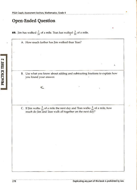 biology essay rubrics