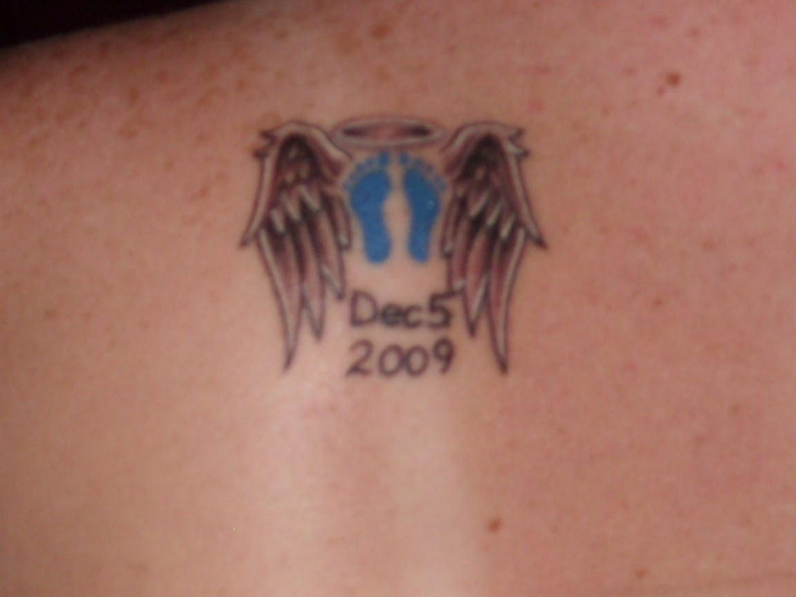 Parents to addison life on demand memorial tattoos for Small memorial tattoos