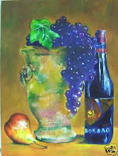 """Spanish Wine with Fruit"" A Virgilla Art Original"