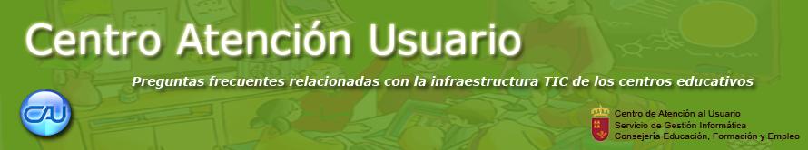 CAU Consejería de Educación, Formación y Empleo de Murcia