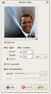 barrack obama upgrade by GIMP