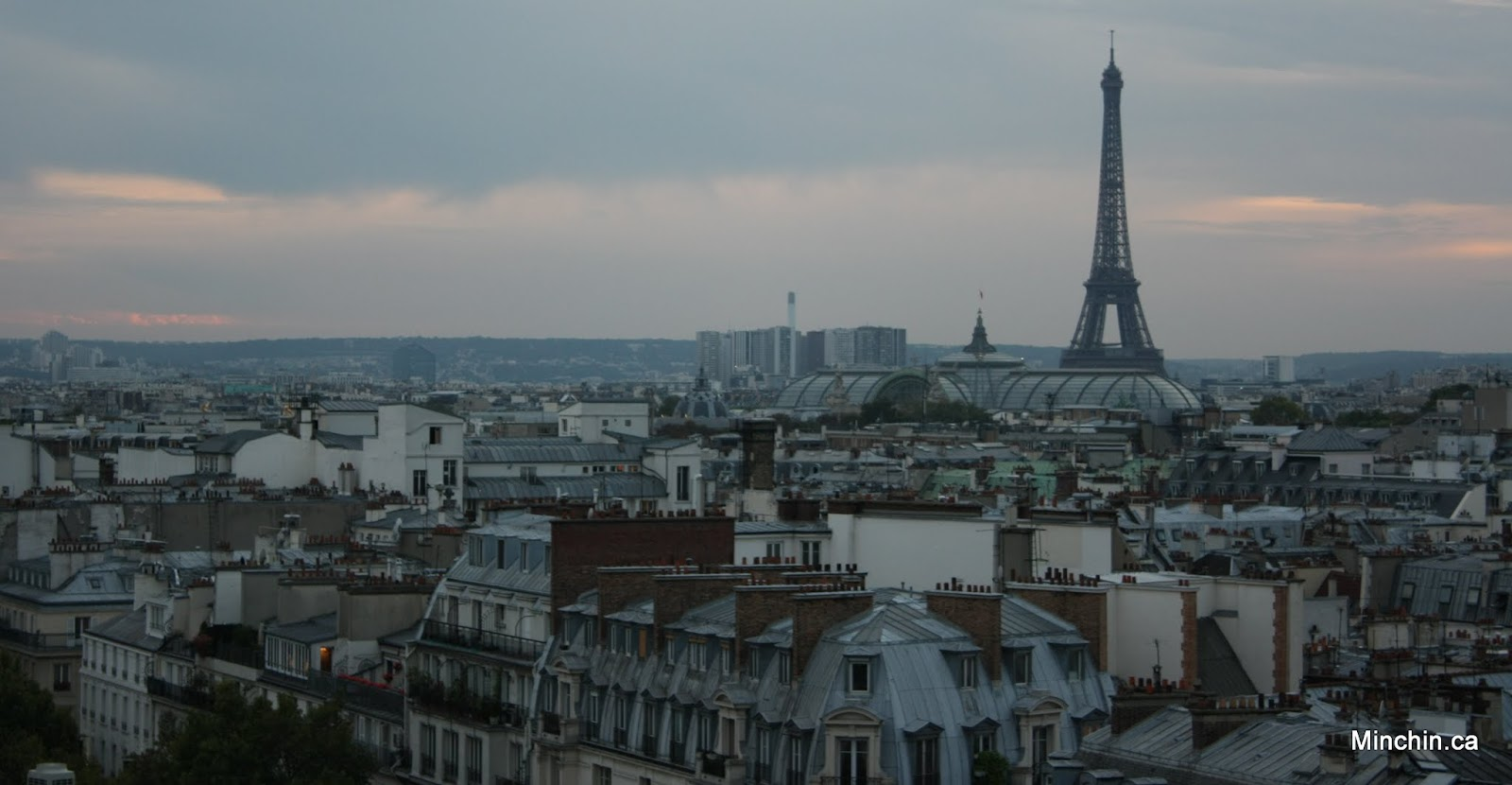 Paris skyline photo 40 project 365