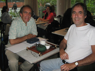 With Stephen Katz in Toronto