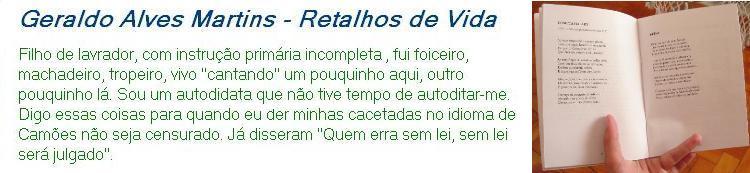 Retalhos de Vida - Geraldo Alves Martins