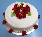 Wedding Cake - fondant