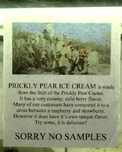 Sign in Ice Cream Shop