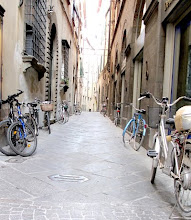 Bicycles in Lucca