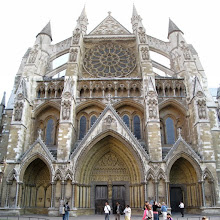 The Side Entrance of Westminster Abbey