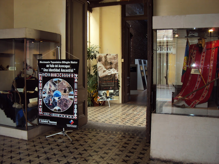 EXPOSICIÓN DE ELEMENTOS Y UTENSILIOS DOMÉSTICOS MAPUCHE