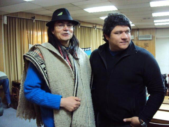 ESTUVIMOS EN EL PRIMER CONGRESO DE LENGUAS INDÍGENAS EN CHILE