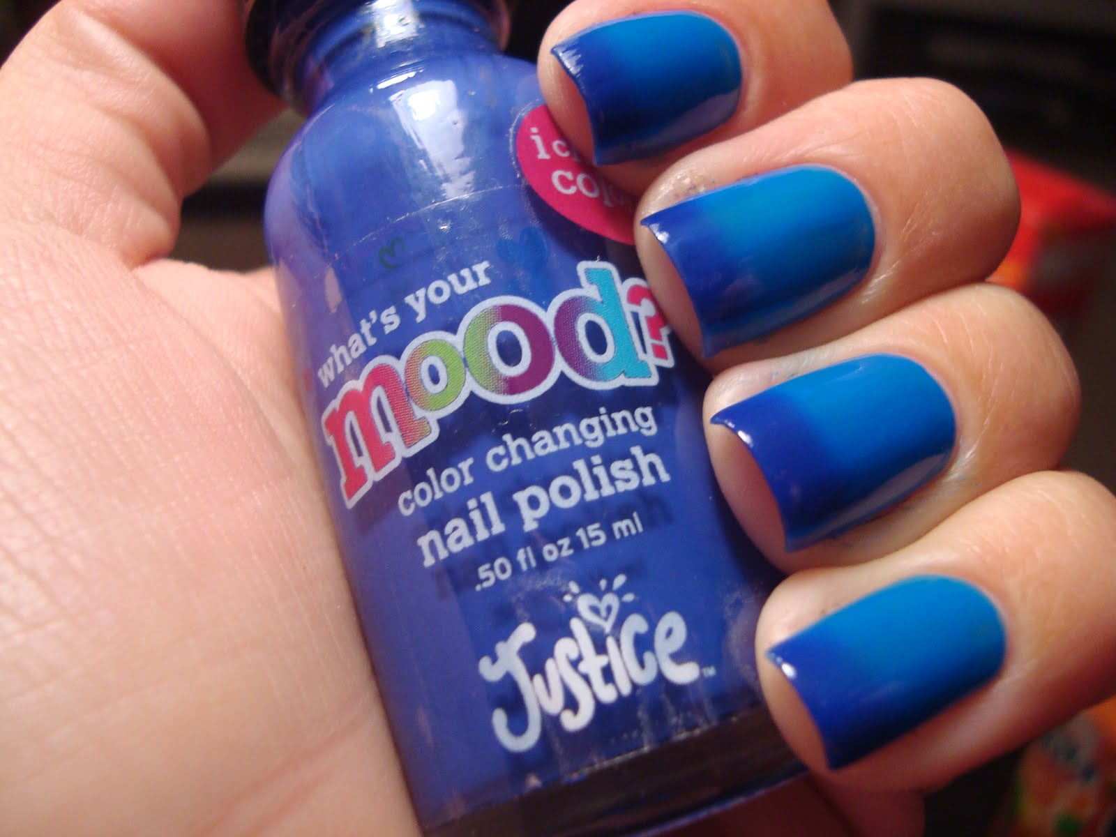 Chloe\'s Nails: Justice Mood Polish