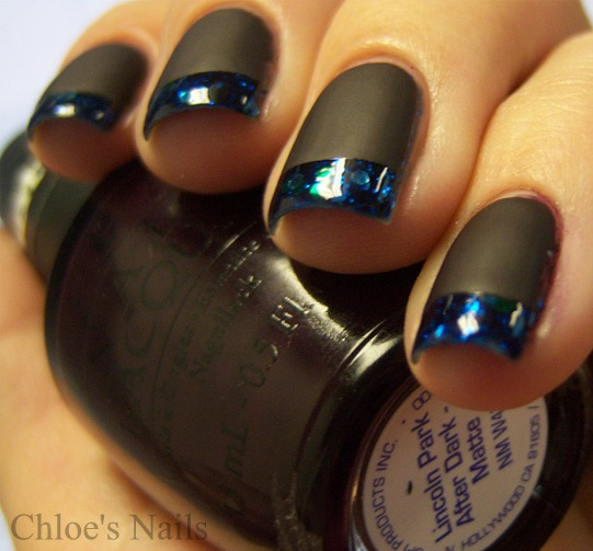Chloe\'s Nails: Lippman Across the Universe Funky French..