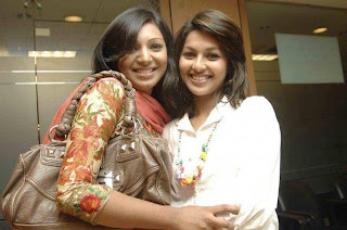 Sadiya Jahan Prova and model monalisa Bangladeshi model