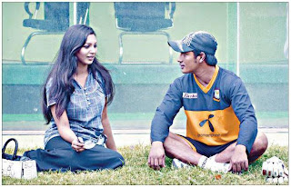 Model prova and Bangladeshi cricketer ashraful