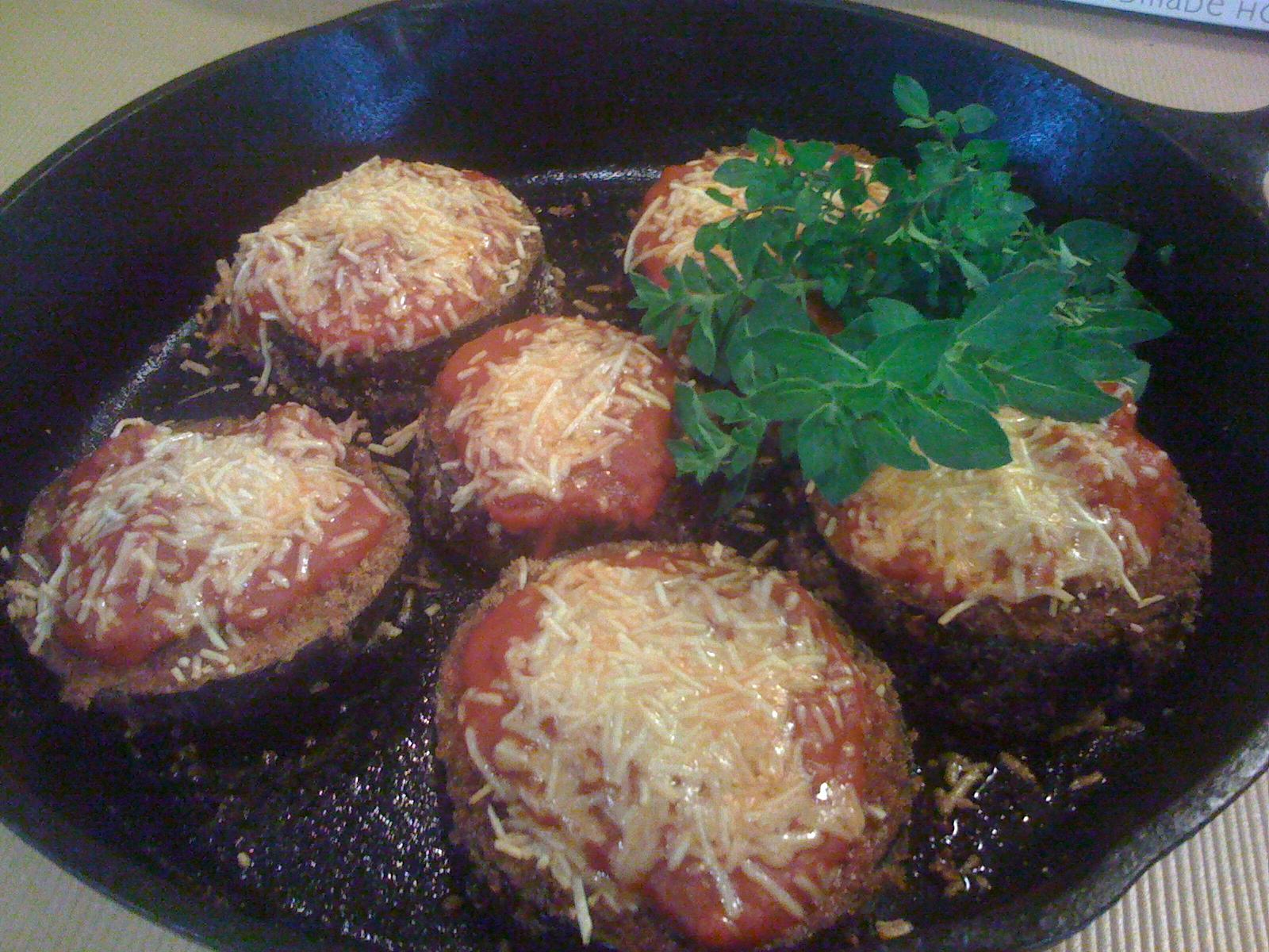 ... Cast Iron - Cast Iron Recipes: Recipe: Eggplant Parmesan (Gluten Free