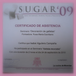 Curso realizado con Manenas