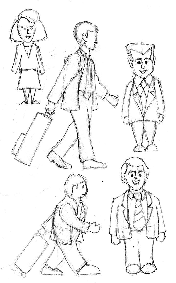 Creative writing character sketch
