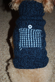 Free Knitting Pattern – Izzy's Hooded Dog Sweater from the Pets