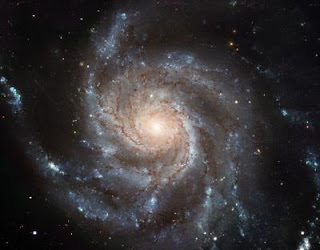 Fotografía de la gigantesca Galaxia del Molinete
