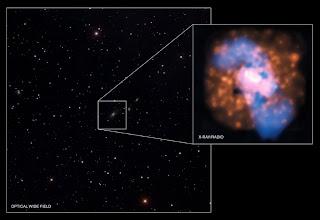 Imágenes de la galaxia 4C +00.58