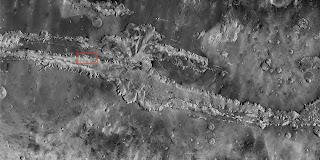 Valle Marineris, el 'Gran Cañón de Marte'
