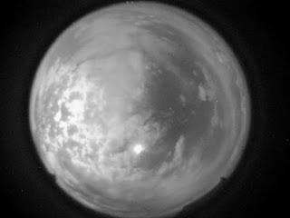 Imagen del video de la bola de fuego en Nuevo México