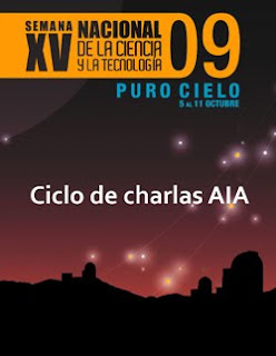 Afiche de Charlas AIA 2009