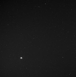 Fotografía de la Tierra y la Luna vistas por la nave MESSENGER