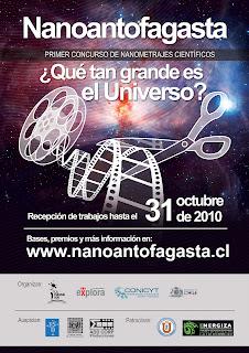 Póster del concurso Nanoantofagasta
