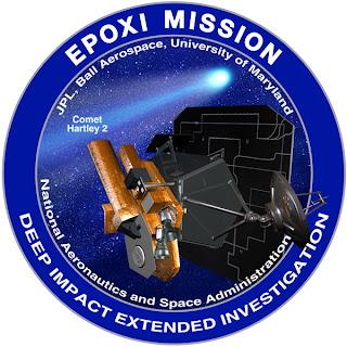 Logotipo de la misión EPOXI de la NASA