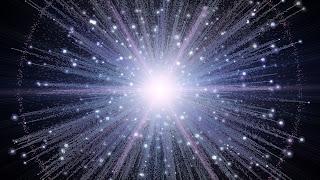 Ilustración artística del Big Bang