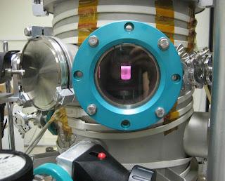 Fotografía de la cámara de reacción utilizada por Hörst