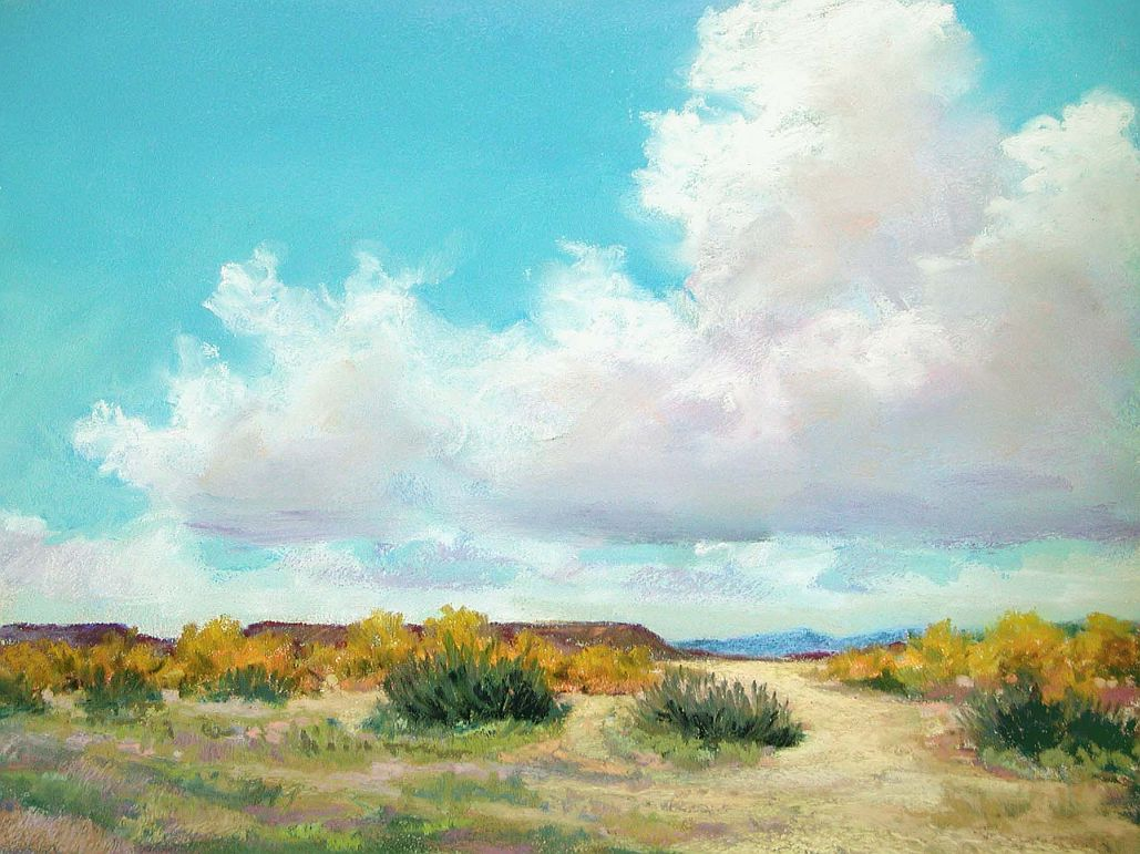 Landscape Painting In Pastels CHAPTER EIGHT CLOUDS