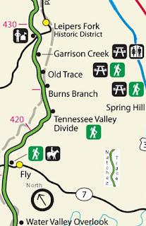 Natchez Trace Travel Natchez Trace Parkway Leiper S Fork Fly