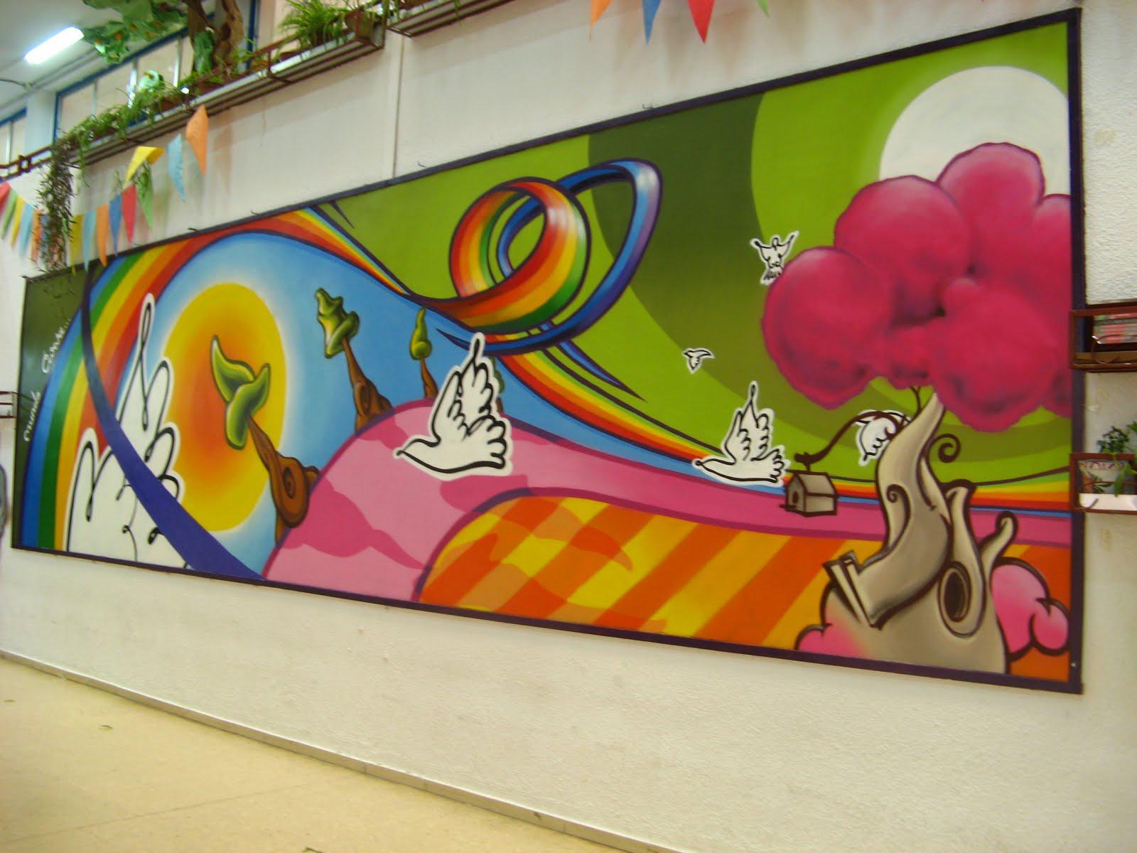 M lay murales interiores exteriores infantiles for Murales diseno de interiores