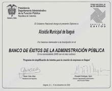 Gobierno exalta a Ibagué po inscripción en el BANCO DE ÉXITOS DE LA ADMINISTRACIÓN PÚBLICA