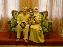 Bersama Isteri dan Anak
