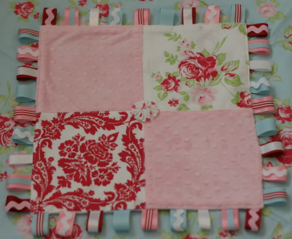 Baby Projects Ribbon Tag Blanket