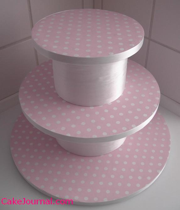 Free wedding projects 3 tier cupcake stand for How to make a cake stand