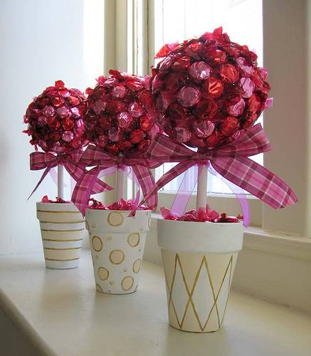 Free wedding projects candy tree centerpiece