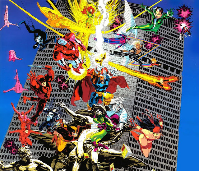 Marvel Universe by Michael Golden
