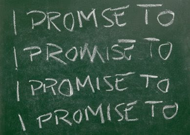 I Say Yes: My 4 Promises for 2009