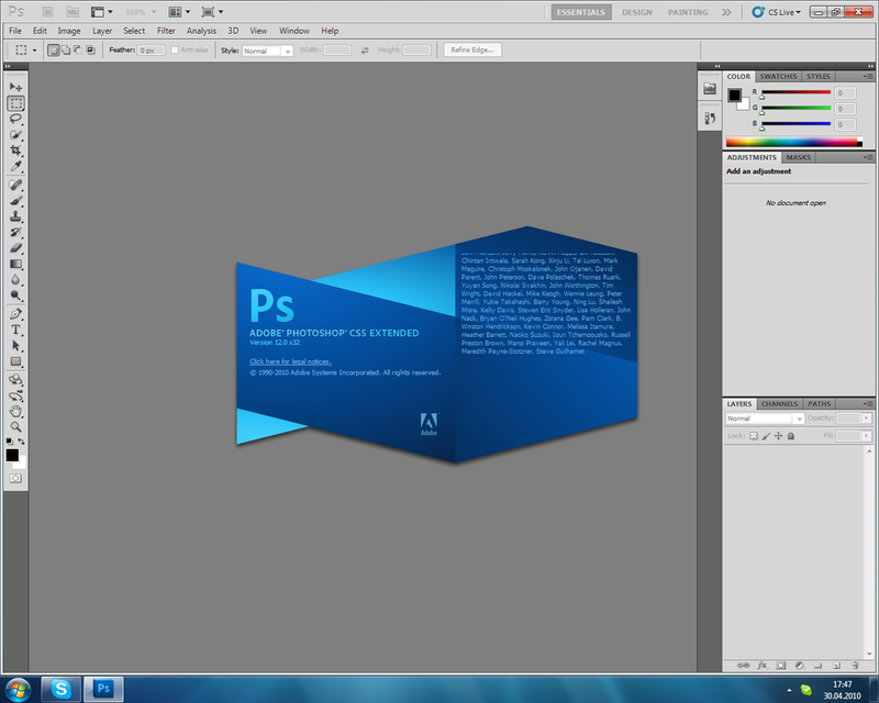 Photoshop portable cs 5 r language en de fr es