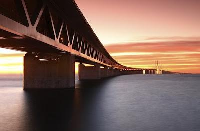 أضخم وأجمل 9 جسور في العالم Malmo+bridge