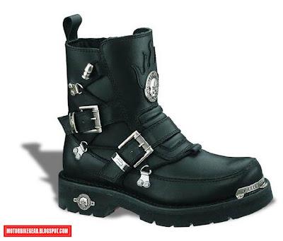 Harley-Davidson Skull Boots for Men
