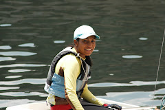 Rohini Rau leaves for a sailing camp in Perth, Australia