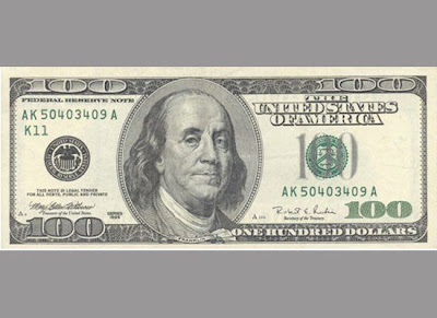 History of US$100 bills
