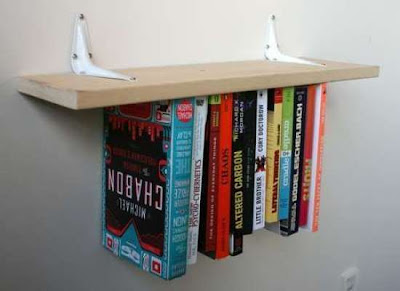 Upside Down Bookcases
