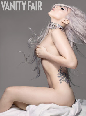 Naked Lady Gaga